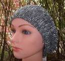 Gray pearl snood